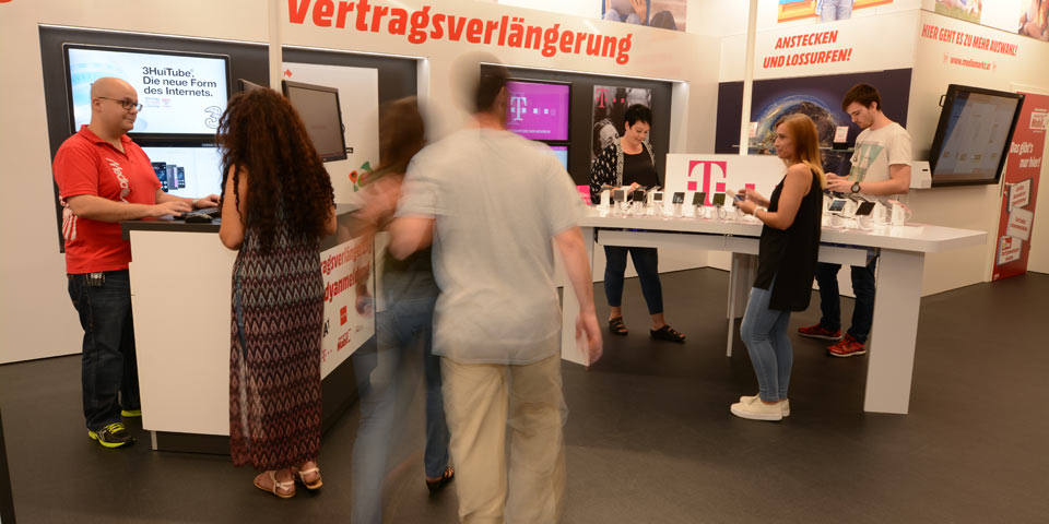 Media Markt eröffnet ersten Mobile Shop