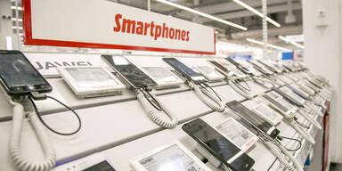 Die meistverkauften Smartphones in Österreich