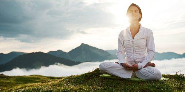 Meditieren geht auch ohne Sitzen