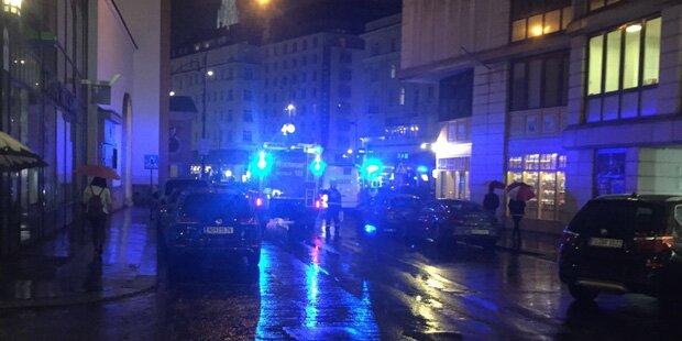 Brandalarm in der Wiener City