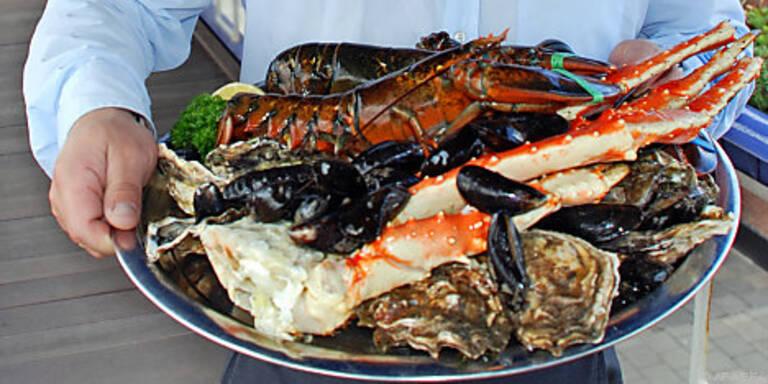Meeresfrüchte aller Art werden in Seeland serviert