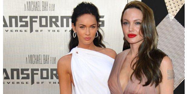 Angelina Jolie sauer auf Megan Fox