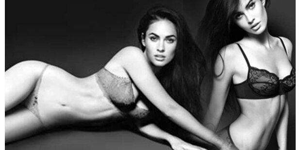 Megan Fox räkelt sich in Armani-Dessous!