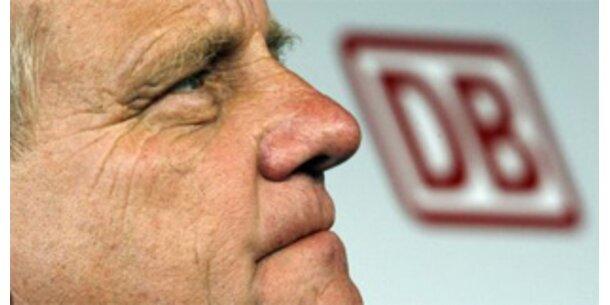 Druck auf DB-Chef Mehdorn wächst