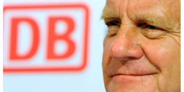 Deutsche Bahn-Chef gibt Fehler bei Bespitzelung zu