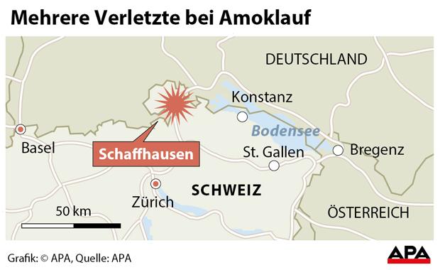 Amoklauf Schweiz Schaffhausen