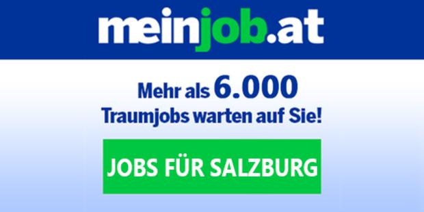 Stellenanzeigen auf meinjob.at für das Bundesland Salzburg
