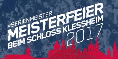 Meisterfeier des FC Red Bull Salzburg