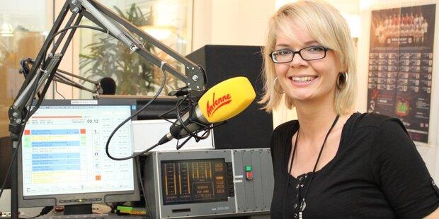 Antenne Moderatorin Melanie Reinhardt