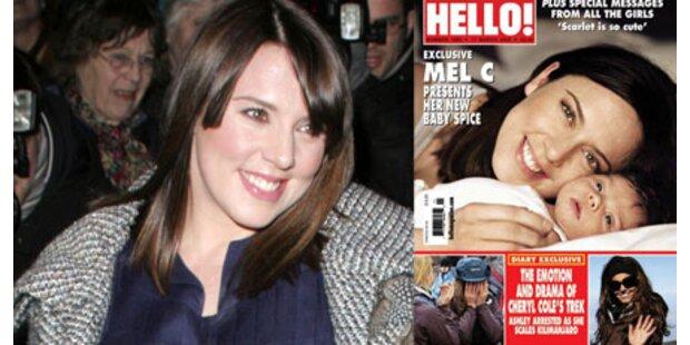 Mel C zeigt uns ihr süßes Baby