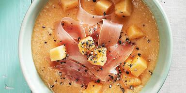 Melonen-Suppe