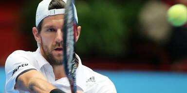 Melzer unterliegt Wien-Sieger Murray