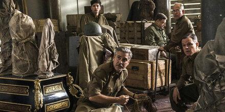 George Clooney als Kunstretter