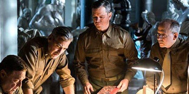 Clooney auf Bildersuche im Zweiten Weltkrieg