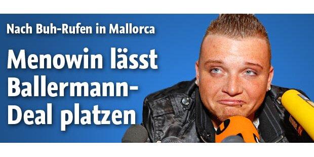 Menowin lässt Ballermann-Deal platzen