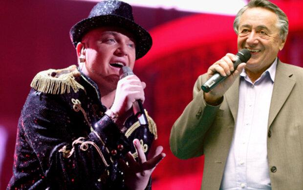 Duett: Menowin singt mit Lugner