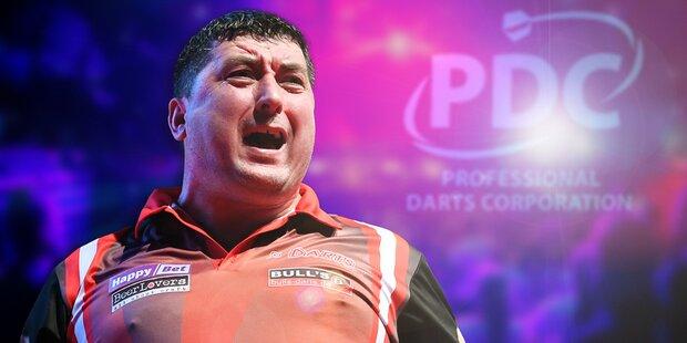 Darts: Knappe Niederlage von Suljovic