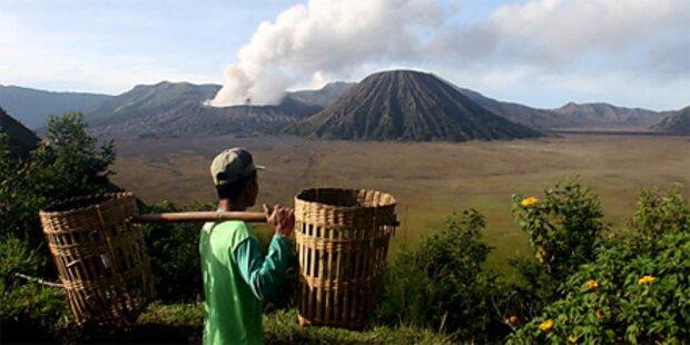 Vulkan Merapi scheint sich zu beruhigen