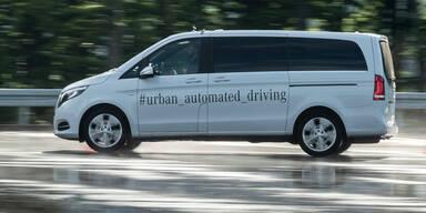 Bosch & Daimler stampfen gemeinsame Robotaxis ein