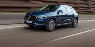 Mercedes EQA jetzt auch mit Allrad erhältlich