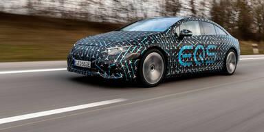 Mercedes EQS Prototyp Front