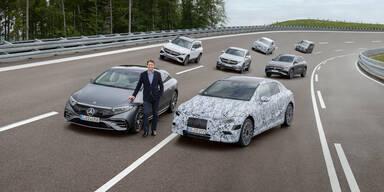 Mercedes stampft den Verbrennungsmotor ein