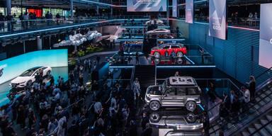 Mercedes auf der IAA: EQE, EQG und erster E-AMG