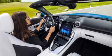Neuer Mercedes SL kommt mit Hightech-Cockpit