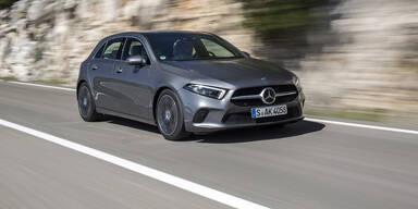 Mercedes A-Klasse nun deutlich günstiger
