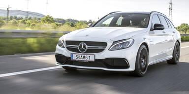 Mercedes-AMG C 63 S T-Modell im Test