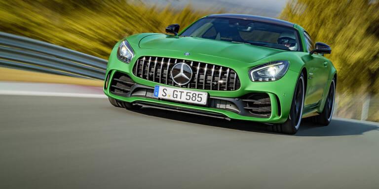 Mercedes greift mit dem AMG GT R an
