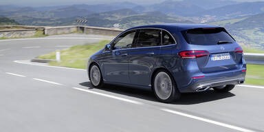 Das kostet die neue Mercedes B-Klasse