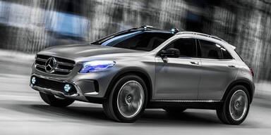 Mercedes stellt den neuen GLA vor