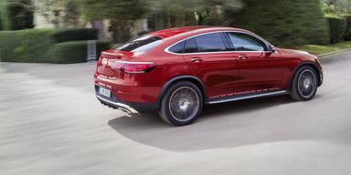 Facelift für das Mercedes GLC Coupé