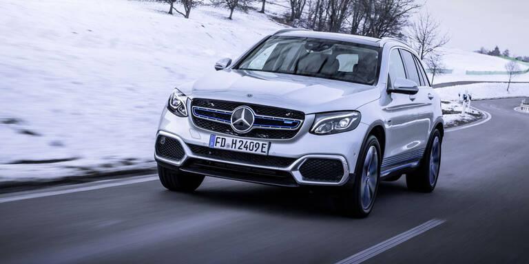 Das ist der Mercedes GLC mit Brennstoffzelle