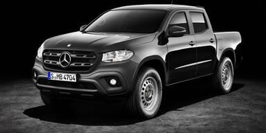 Mercedes bringt günstige X-Klasse