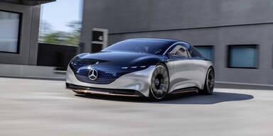 Offiziell: Mercedes EQS schafft 700 Kilometer Reichweite