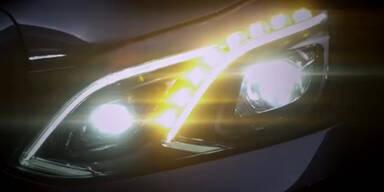 """Merzedes-Benz: Neues """"Light Design"""""""