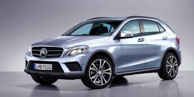 Kompakt-SUV: So kommt der Mercedes GLA
