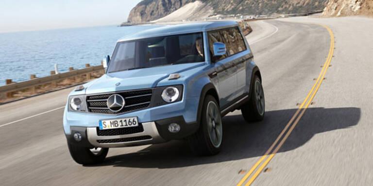 Mercedes bringt kleines Kompakt-SUV GLG