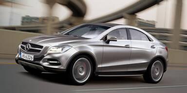 Mercedes bringt das SUV-Coupé MLC