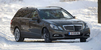 Mercedes E350 CDI BE 4Matic T-Modell im Test