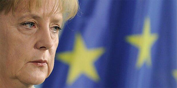 Merkel: Scharfe Kritik an Siedlungspolitik