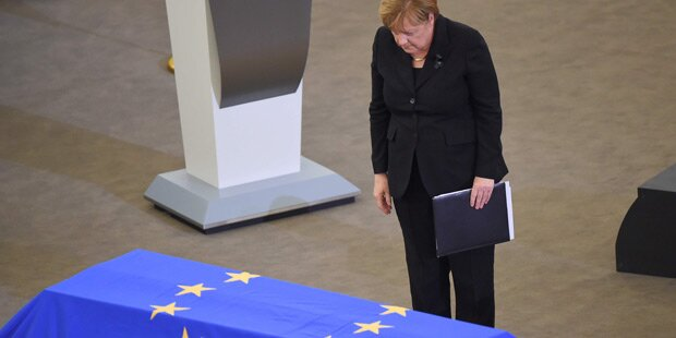 Merkel dankte Kohl:
