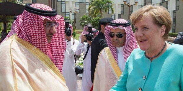 Merkel Saudi Arabien Kopftuch