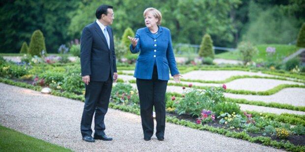 Merkel sprach mit China-Premier über Menschenrechte