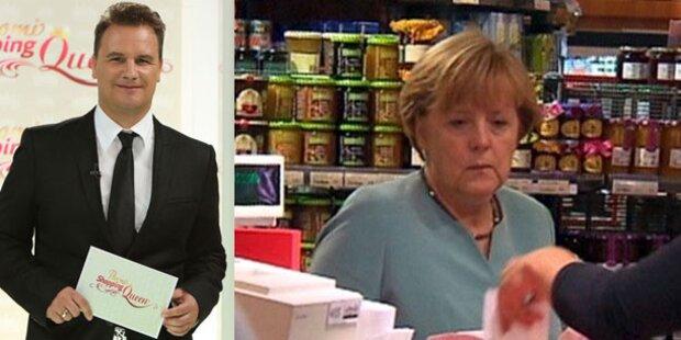 Angela Merkel crasht