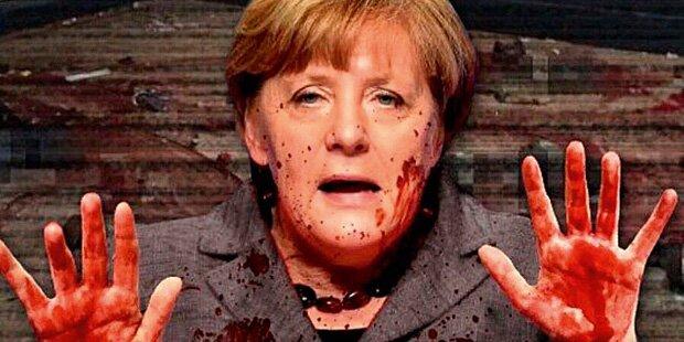 Hass-Postings gegen deutsche Kanzlerin
