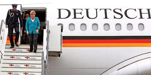 Merkel am Freitag bei Trump in Washington