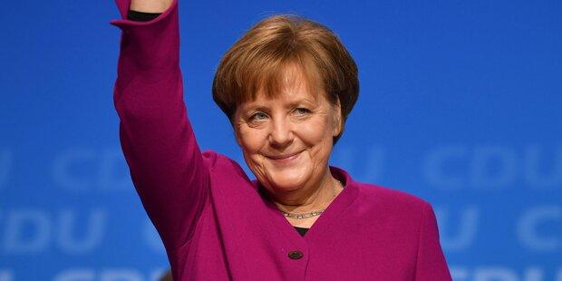 Merkel vor Wiederwahl zur Kanzlerin